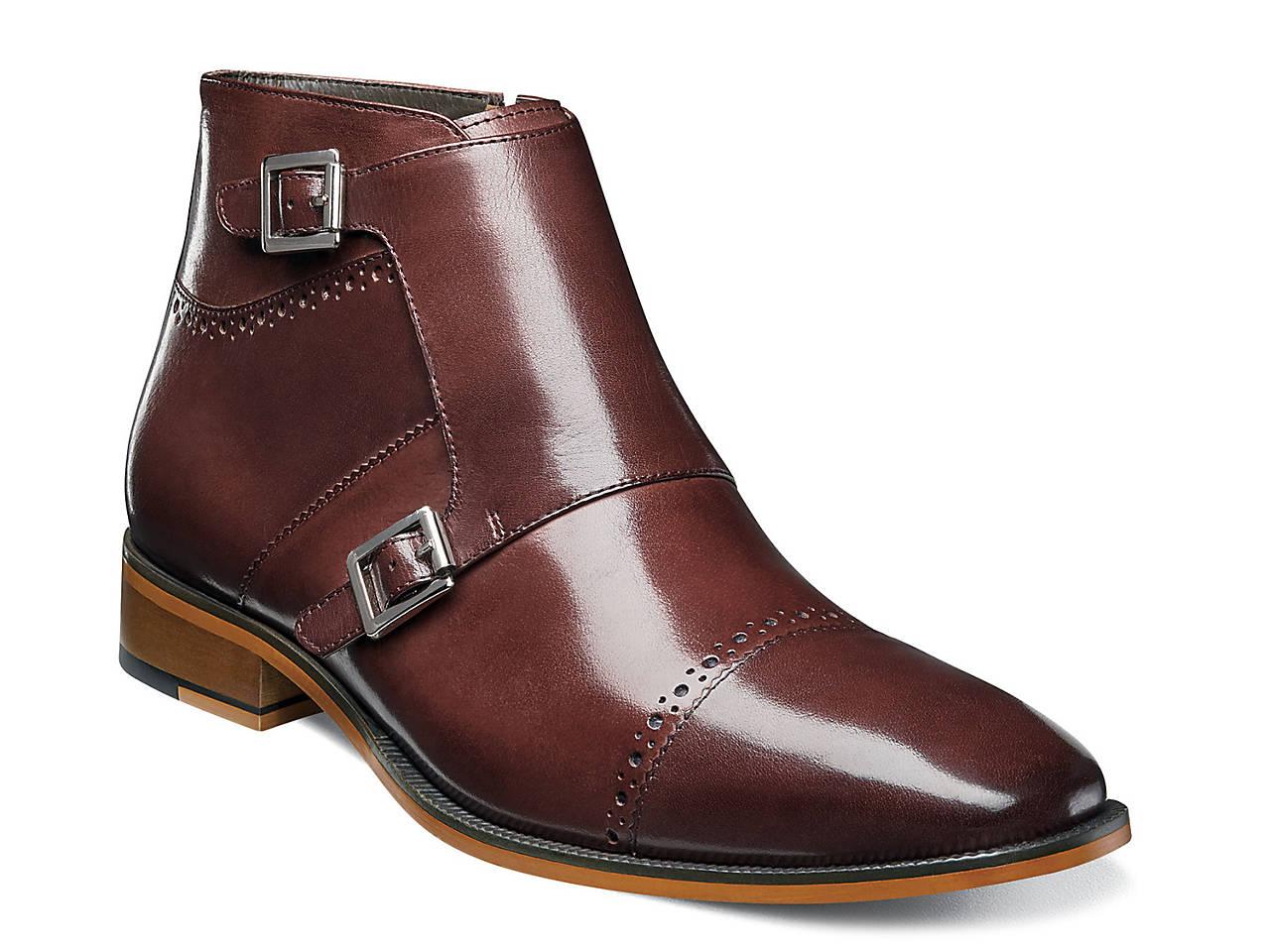 1f71cb2fc Stacy Adams Kason Double Monk Strap Boot Men s Shoes