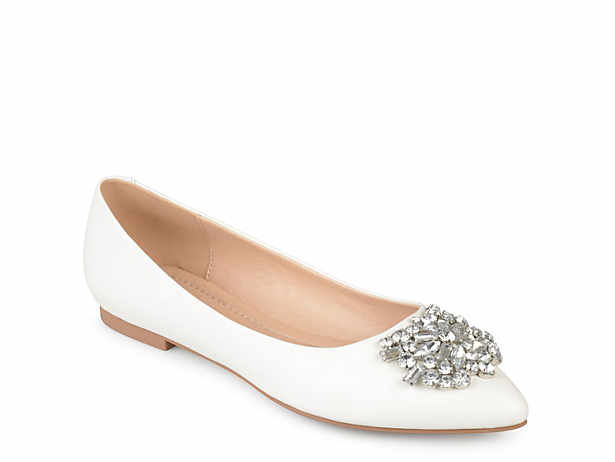 01aa7900488b6 Journee Collection Cortni Metallic Flat Women's Shoes | DSW