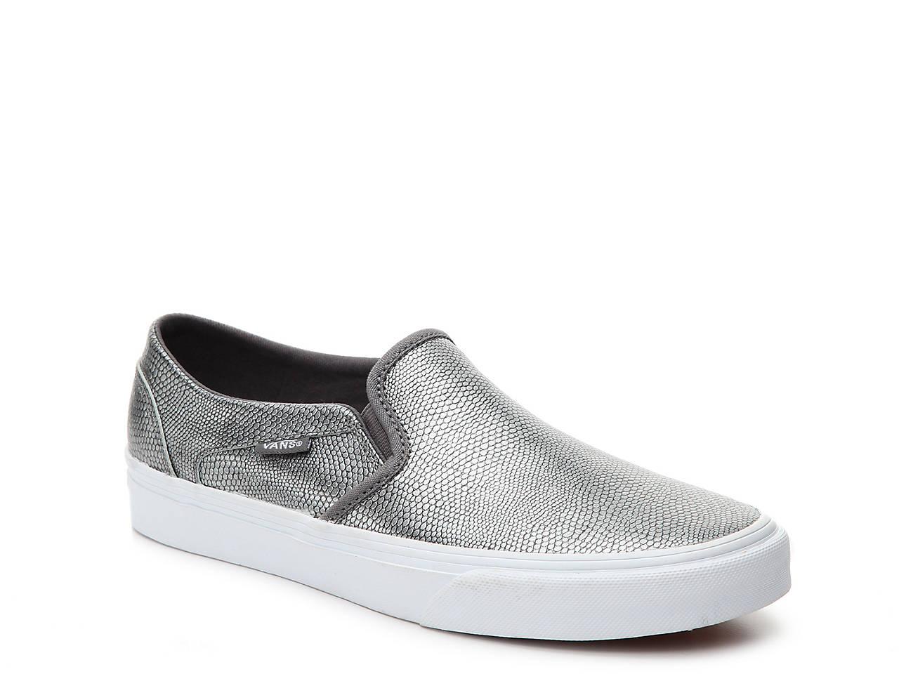 c98ab352d7 Vans Asher Slip-On Sneaker - Women s Men s Shoes