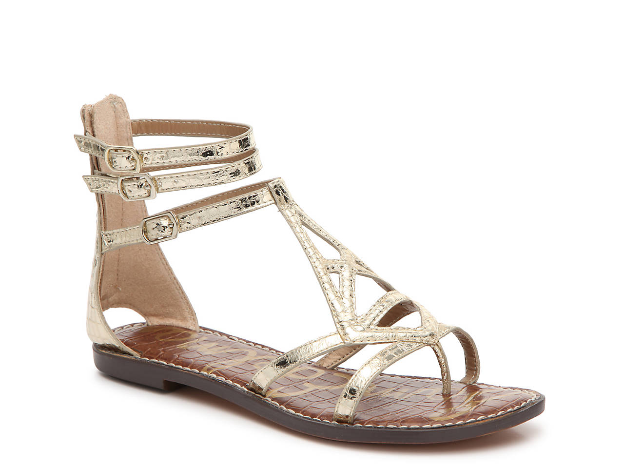 e3b500701275 Sam Edelman Goldie Gladiator Sandal Women s Shoes