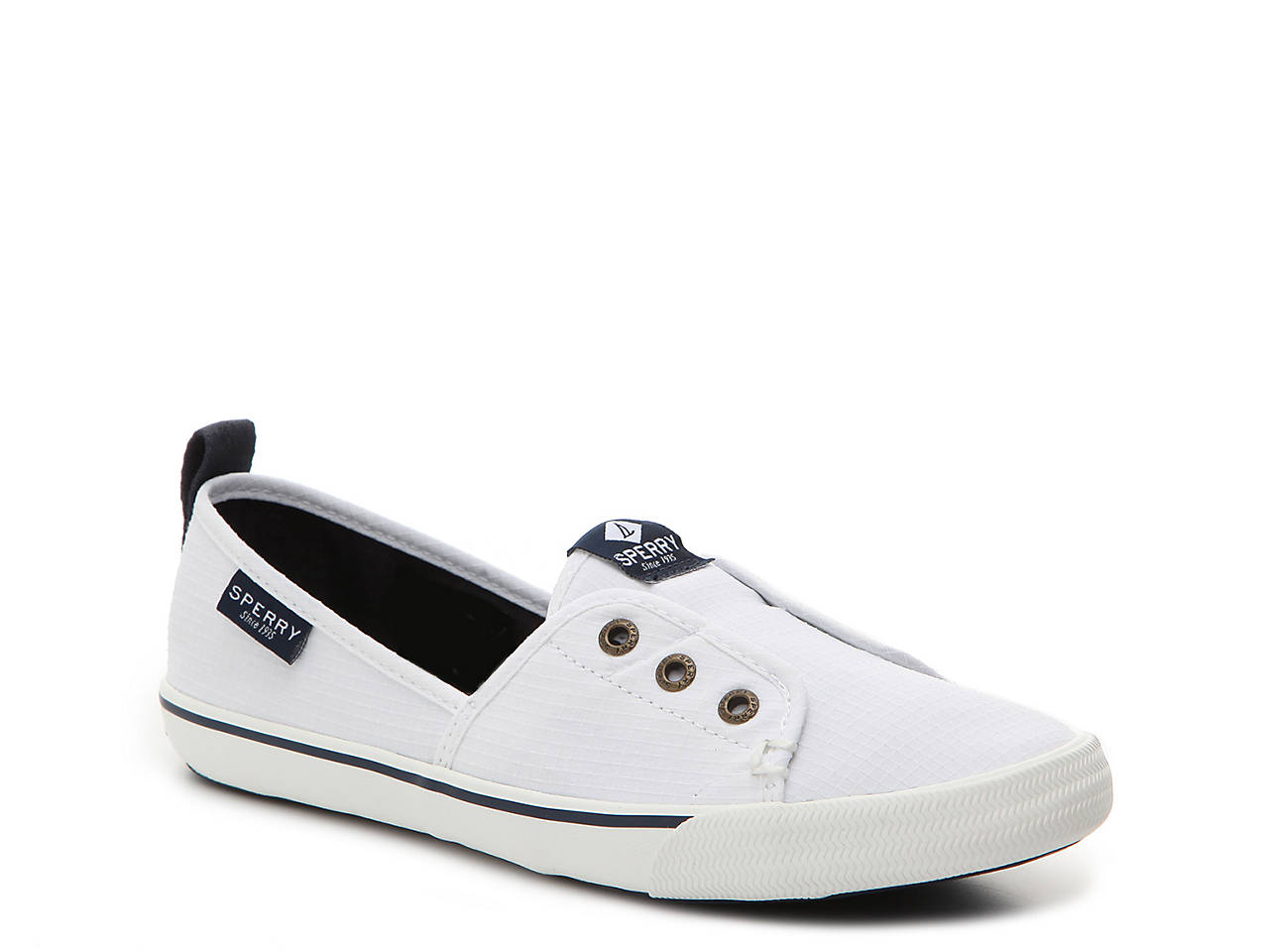 Sperry Top-Sider Lounge Wharf Slip-On Sneaker Women s Shoes  39e440223