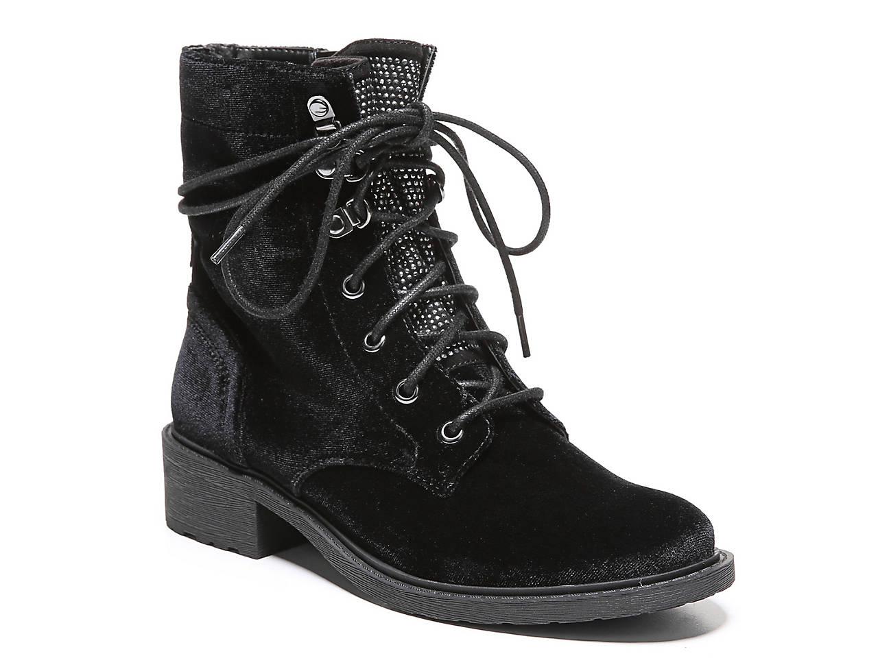 c9eb330c5 Circus by Sam Edelman Dawson 2 Velvet Combat Boot Women s Shoes