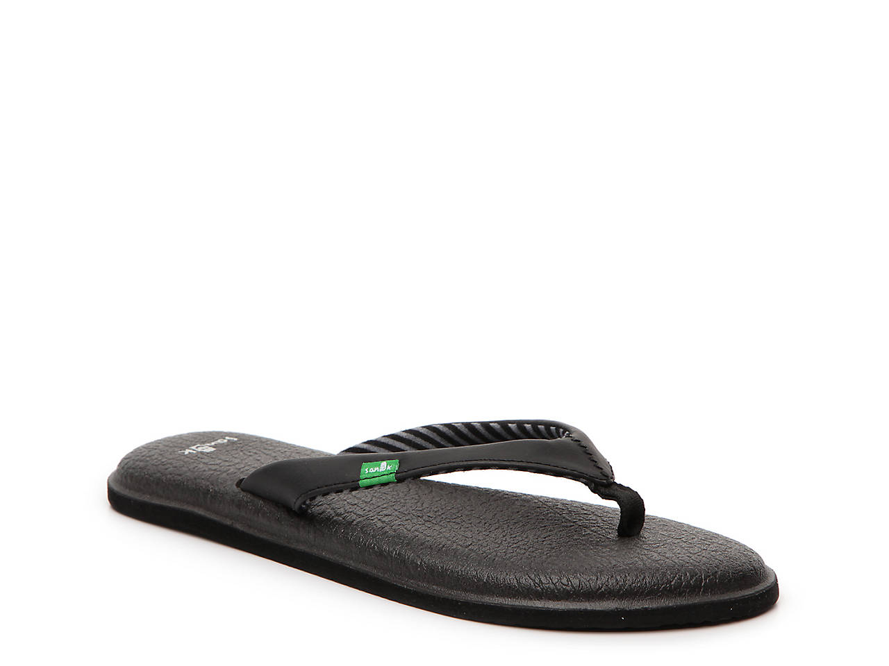 Sanuk Yoga Chakra Thong Sandals Womens Flip Flops Shoes Flat Heel