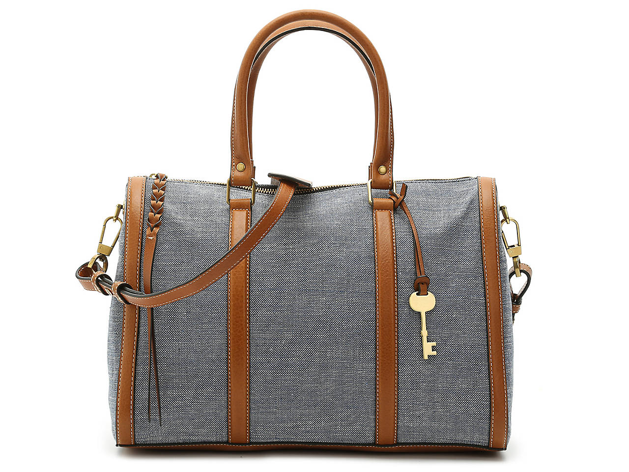 50b98a7f8de2 Fossil Kendall Satchel Women s Handbags   Accessories