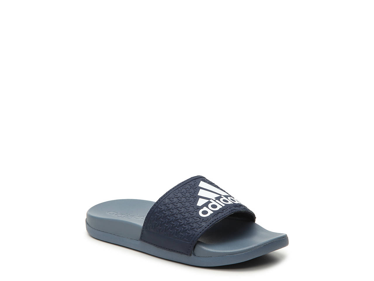 1afac872a9e6 adidas Adilette Cloudfoam Plus Toddler   Youth Slide Sandal Kids ...