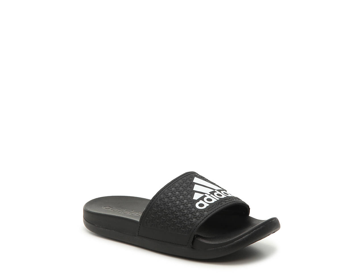 b4ec4765539 adidas Adilette CLF+ Toddler   Youth Slide Sandal Kids Shoes