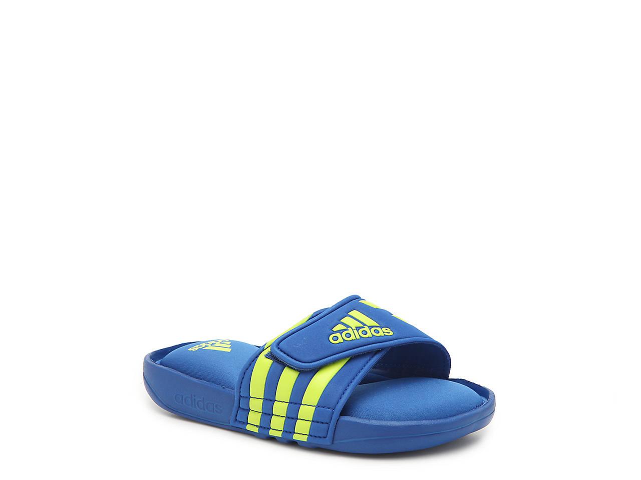 ffc773884 adidas Adissage K Toddler   Youth Slide Sandal Kids Shoes