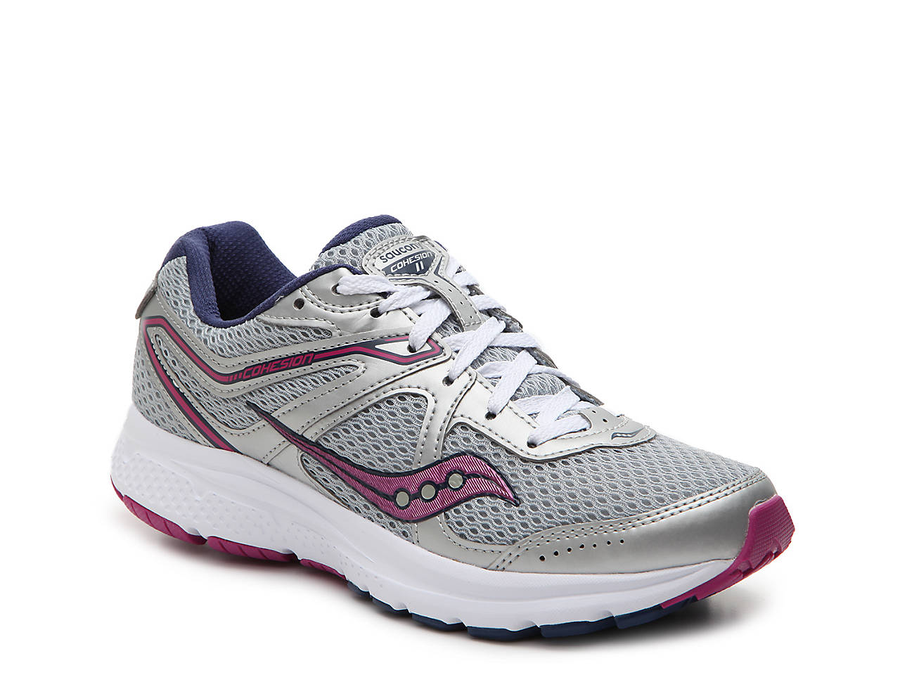 Saucony Grid Cohesion 11 Running Shoe - Women s Women s Shoes  b5fa5cab933b