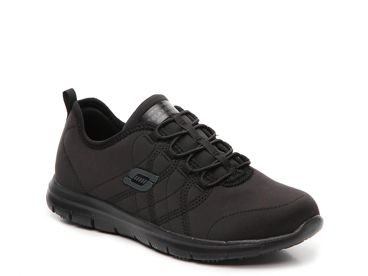 56024e27898 Skechers Work Relaxed Fit Srelt Slip-On Sneaker Women s Shoes
