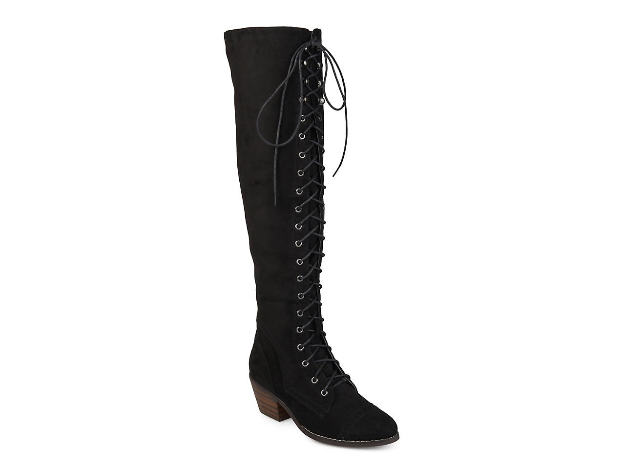Bazel Over The Knee Combat Boot