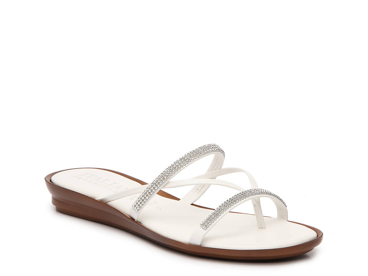 6d3f2116231c Italian Shoemakers Jewel Wedge Sandal Women s Shoes