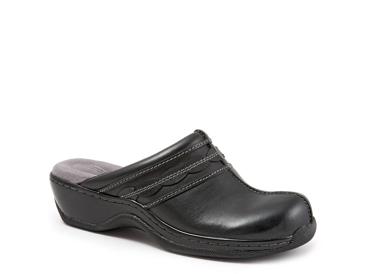 Black 12 WW US SoftWalk Footwear SoftWalk Womens Abby