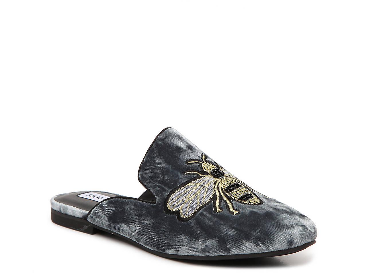 36825c51060 Steve Madden Hugh Velvet Mule Women s Shoes