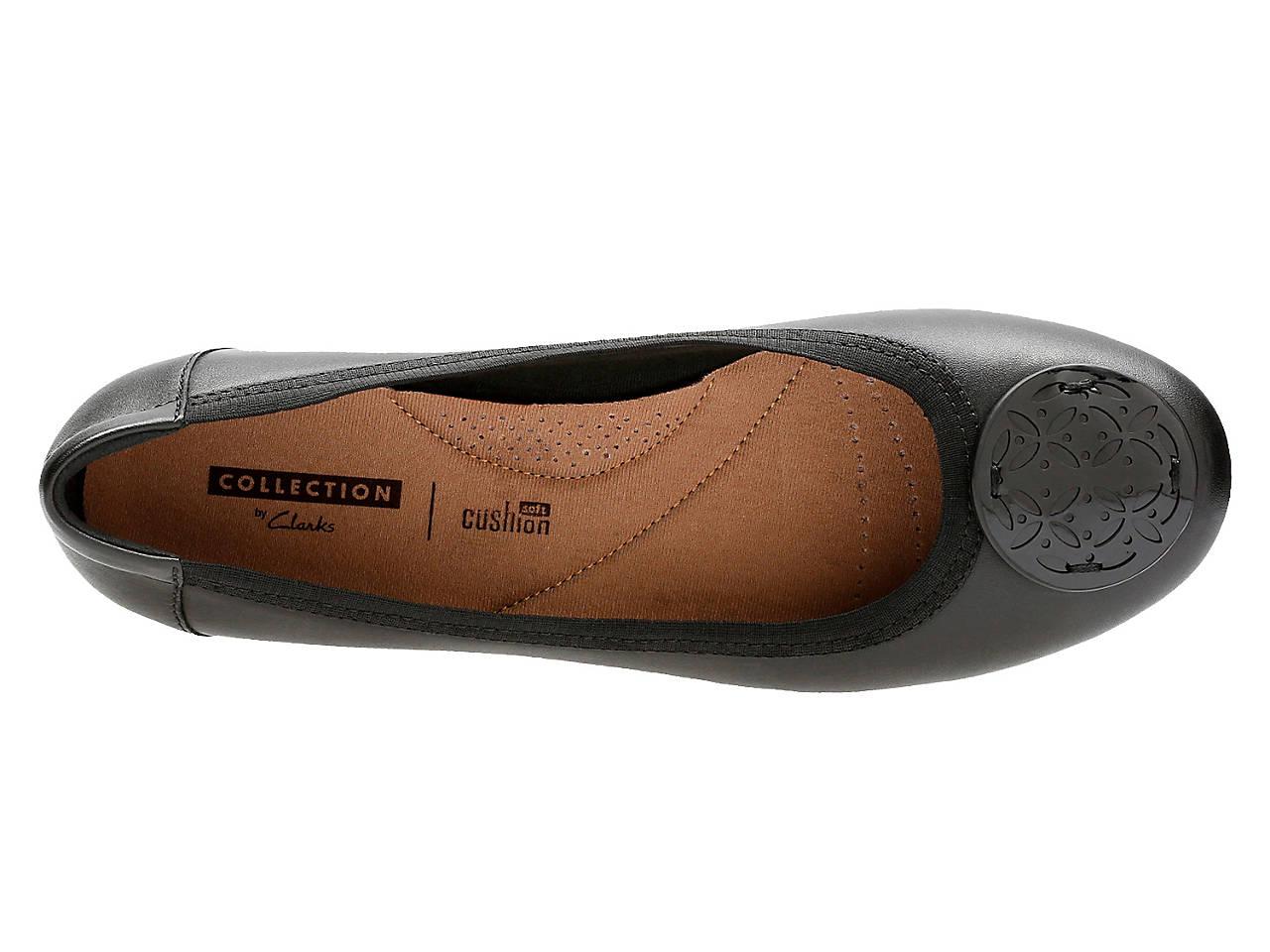 432f4c6d8ca7 Clarks Gracelin Lola Ballet Flat Women s Shoes