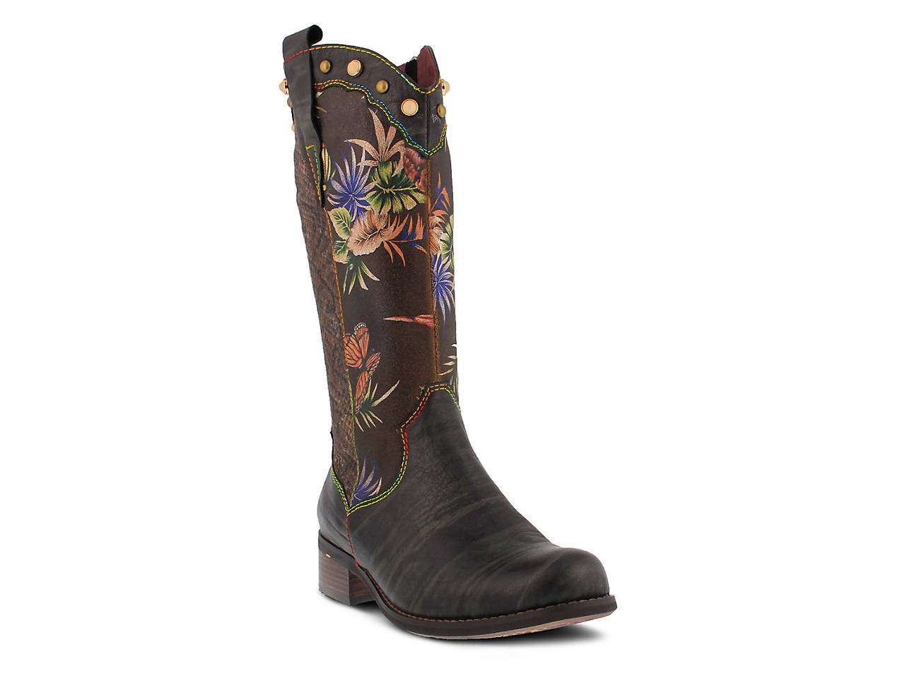 580e704f1f0 L Artiste by Spring Step Tiziana Western Boot Women s Shoes