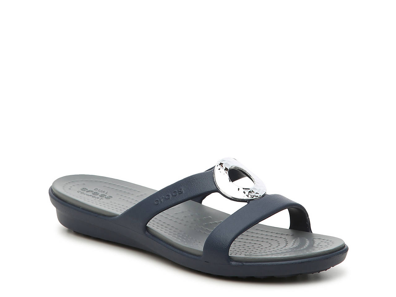 Women's Crocs Sanrah Hammered Sandals on hot sale JO7Kw