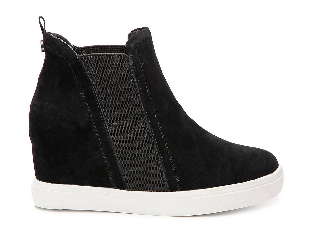 efc8dbf3f37 Steve Madden Leii Wedge Sneaker Women s Shoes