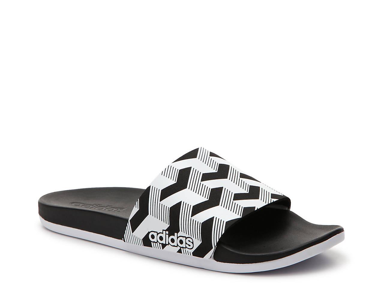 9d6480c6952 adidas Adilette Cloudfoam Link Slide Sandal - Men s Men s Shoes