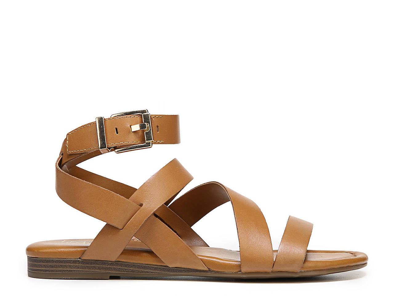 355de80c8505 Franco Sarto Gauge Flat Sandal Women s Shoes