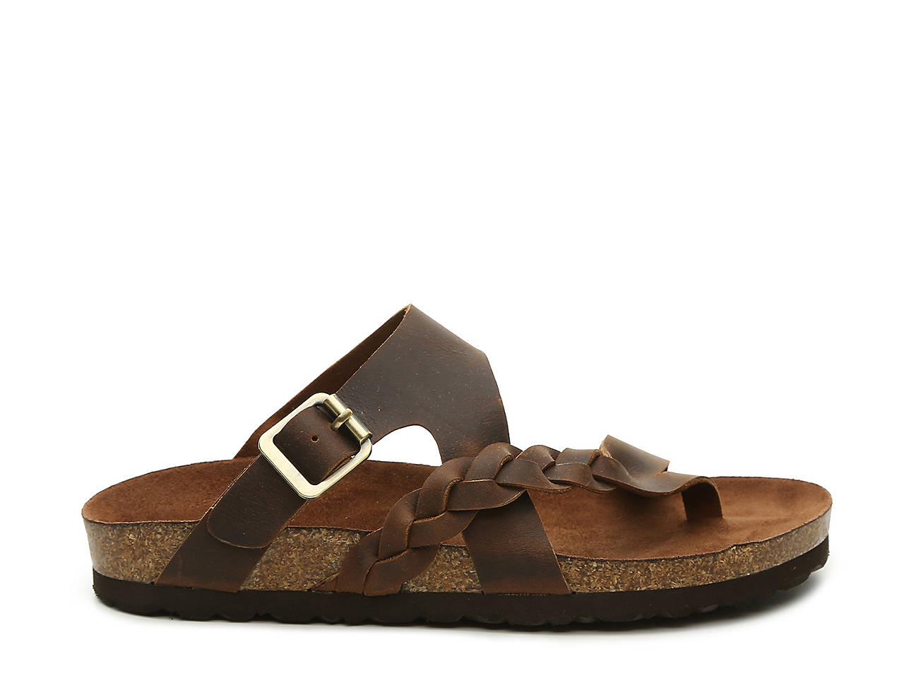 1b038512386 White Mountain Hamilton Flat Sandal Women s Shoes