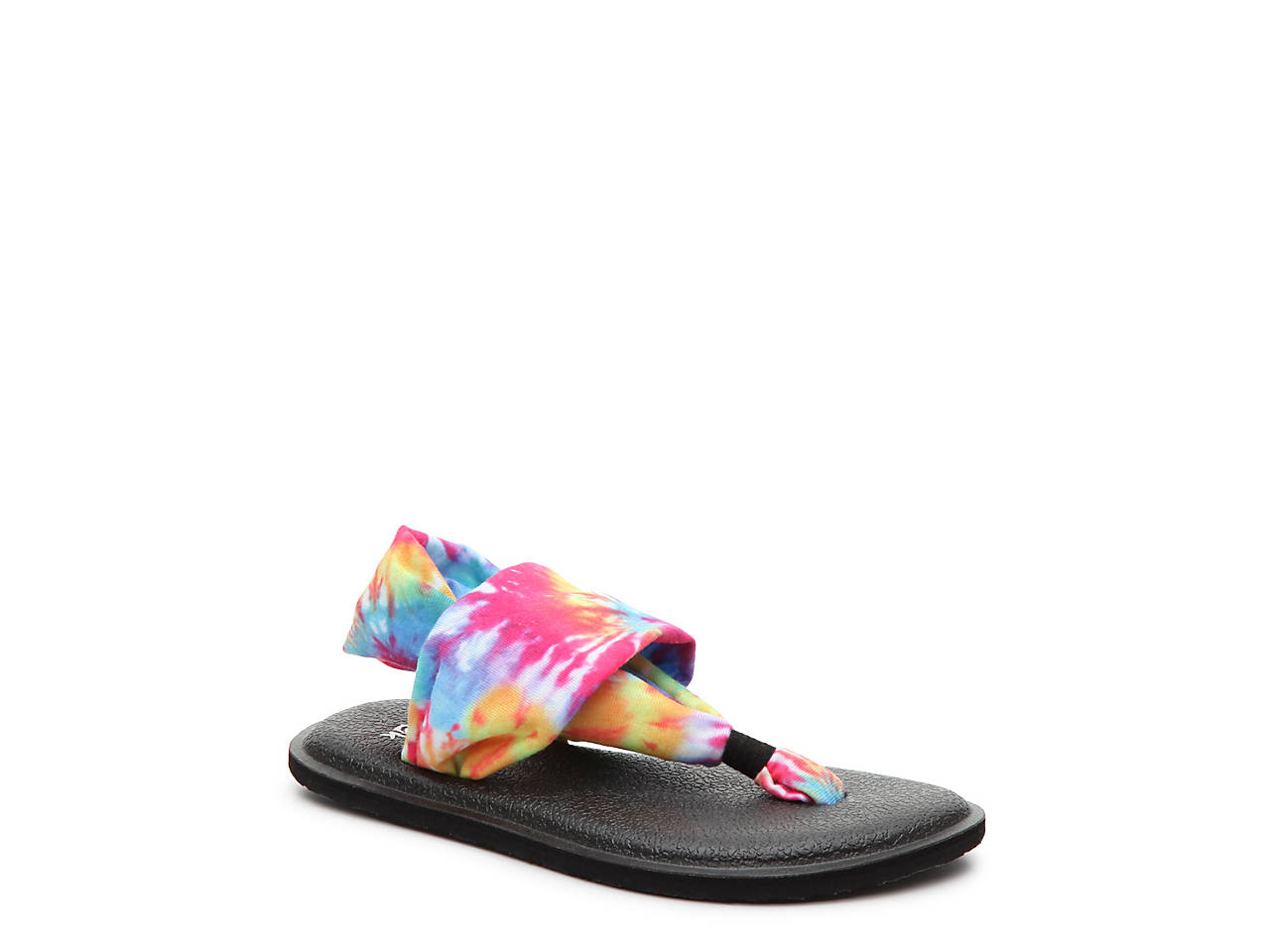 945046338ca2 Sanuk Lil Yoga Sling Tie Dye Youth Sandal Kids Shoes