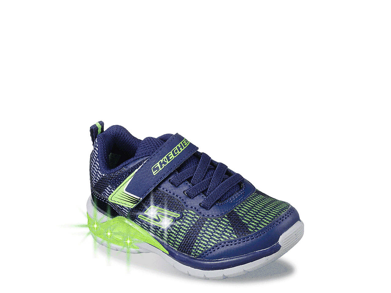 Skechers S Lights Erupters Ii Lava Waves Toddler Light Up Sneaker