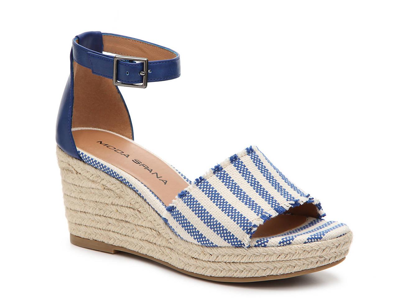 22b0c434d319 Moda Spana Kassie Espadrille Wedge Sandal Women s Shoes