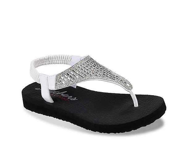 85e515ec8b62 Skechers Cali Vinyasa Glass Star Wedge Flip Flop Women s Shoes