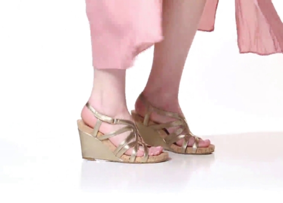 62791ba5247 Aerosoles Lux Plush Wedge Sandal Women s Shoes
