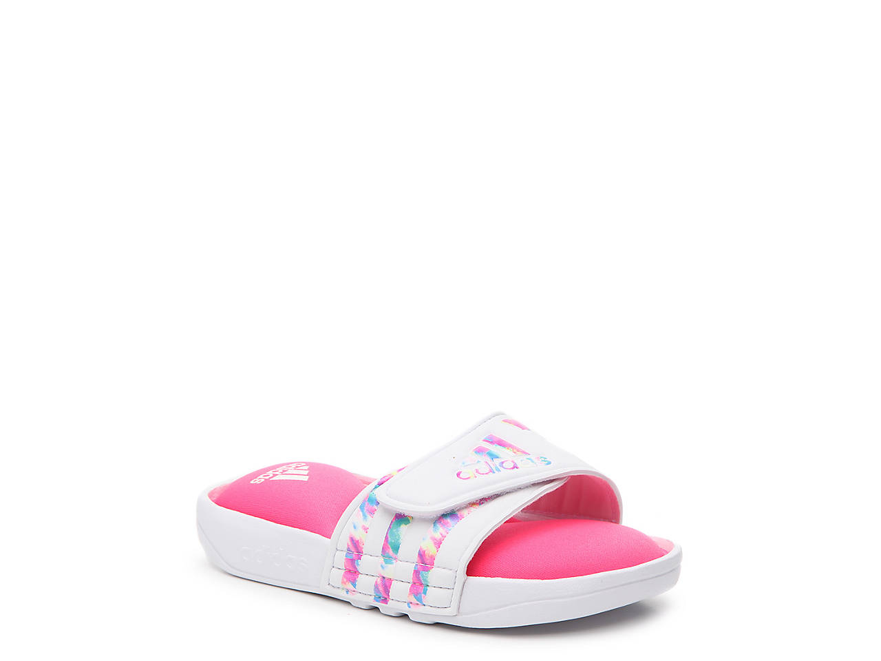 0debde111f32b adidas Adissage K Toddler   Youth Slide Sandal Kids Shoes
