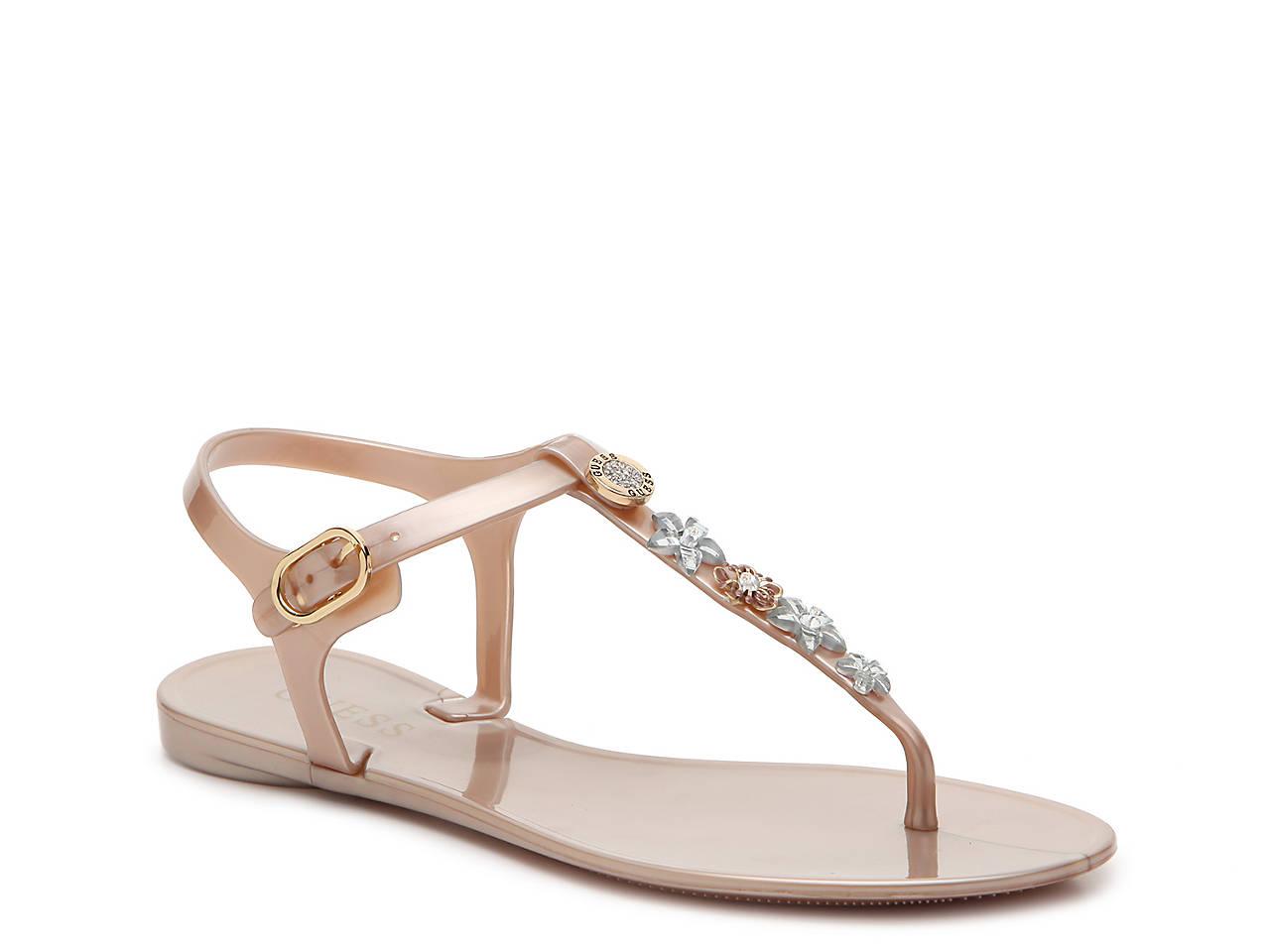 84a75c05528 Guess Addison Flat Sandal Women s Shoes