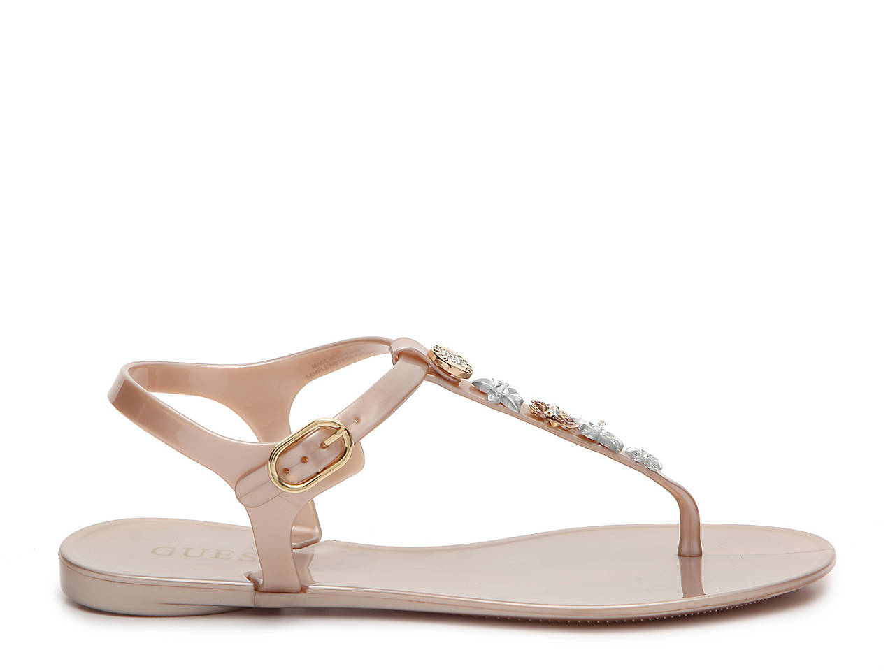 8cec4cd32a5 Guess Addison Flat Sandal Women s Shoes