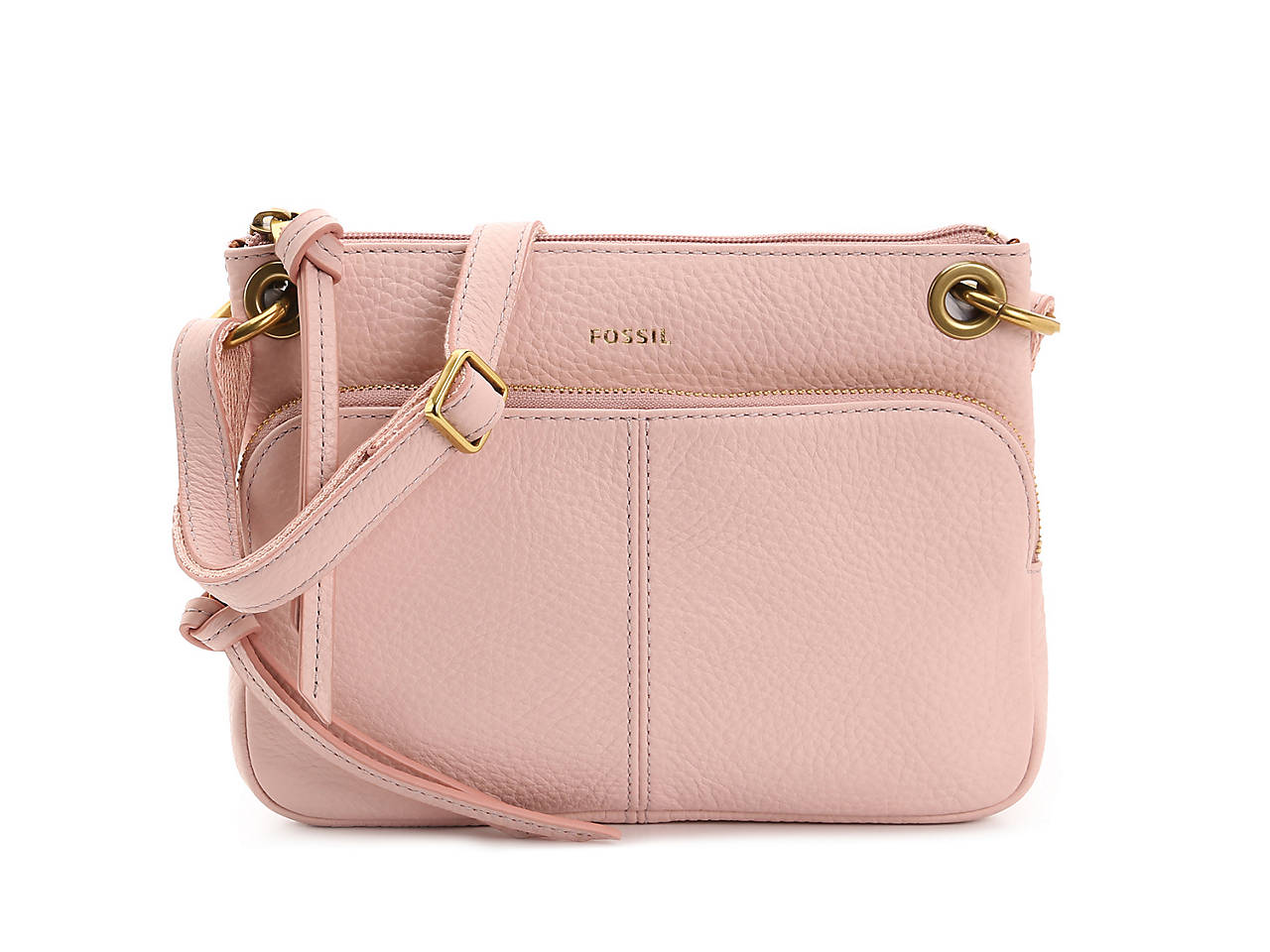Karli Leather Crossbody Bag