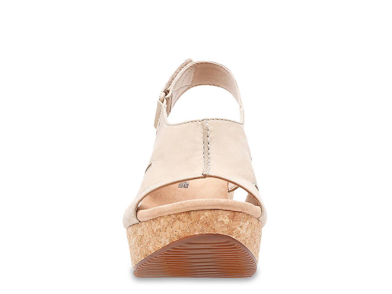 7656a829188 Clarks Annadel Bari Wedge Sandal Women s Shoes