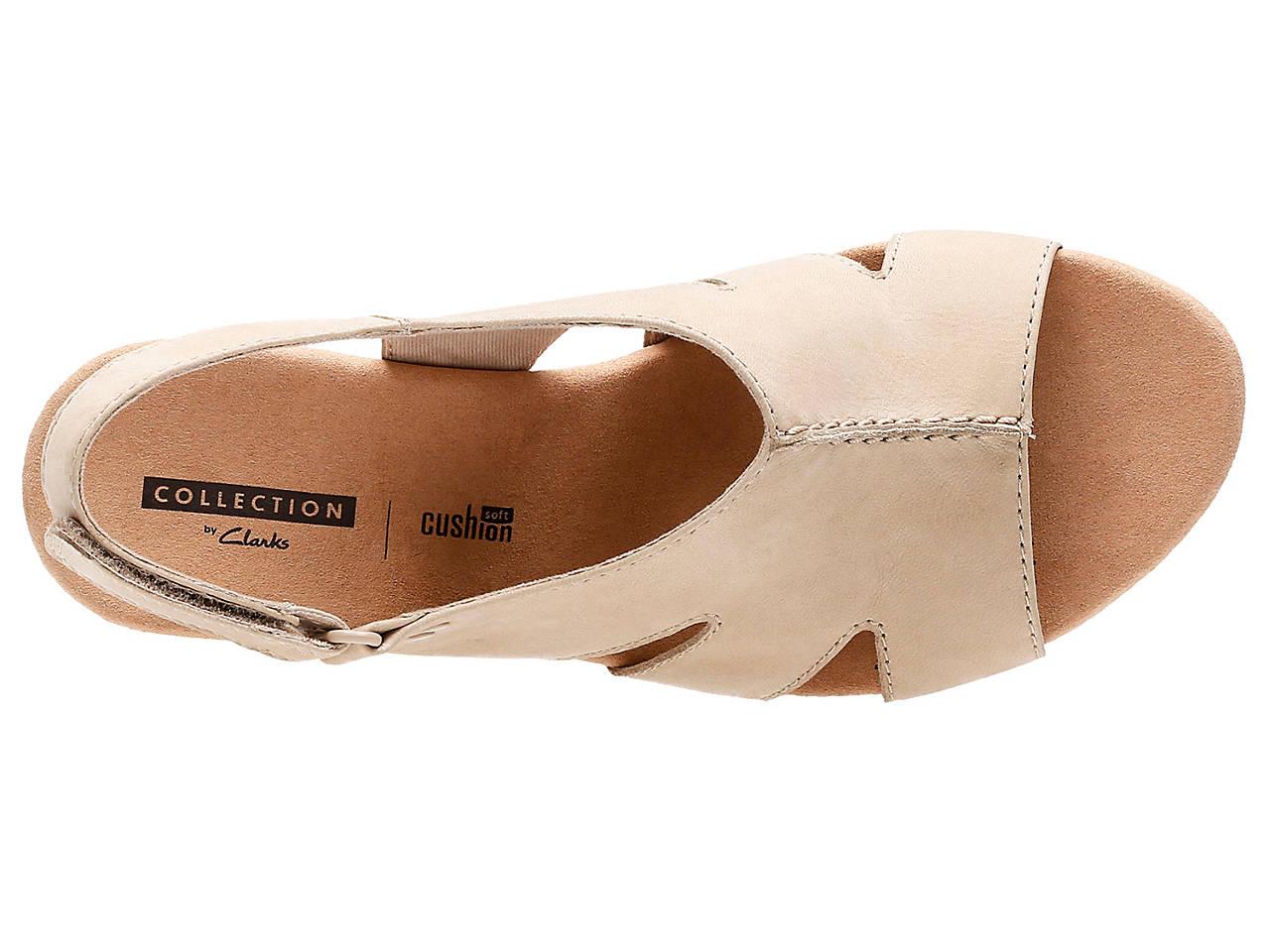 f30b36263b5 Clarks Annadel Bari Wedge Sandal Men s Shoes