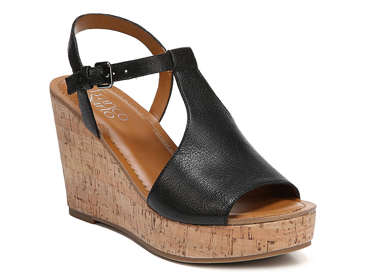 Clothing, Shoes & Accessories Official Website Franco Sarto Cork Wedge