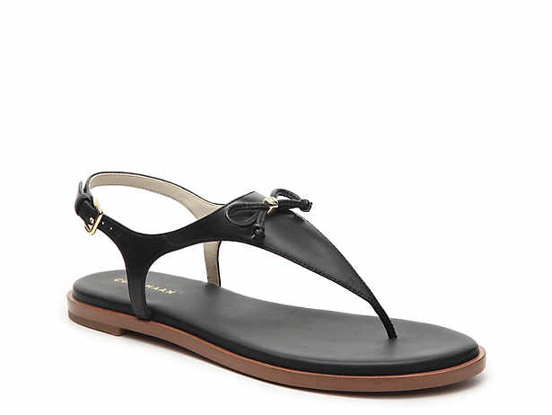 Cole Haan Womens Rona Split Toe Casual Slingback Sandals Woodbury Size 65