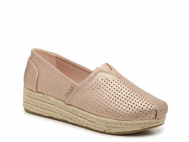 Highlights City Glam Espadrille Wedge Slip-On