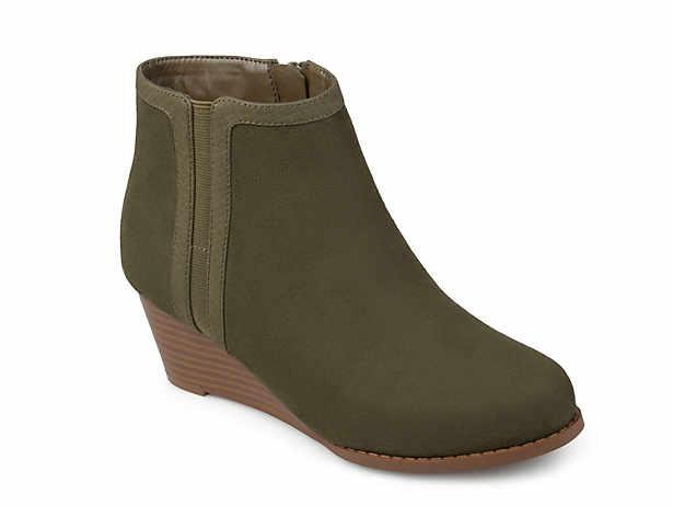 Women S Wedge Boots Dsw
