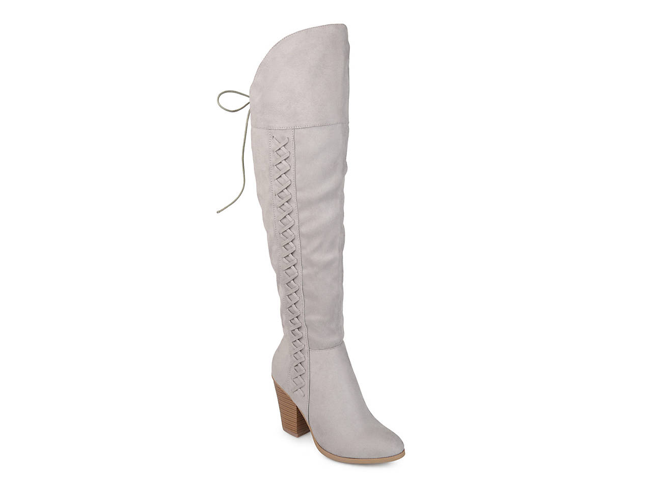 55e64ce66a7 Journee Collection Spritz Over The Knee Boot Women s Shoes