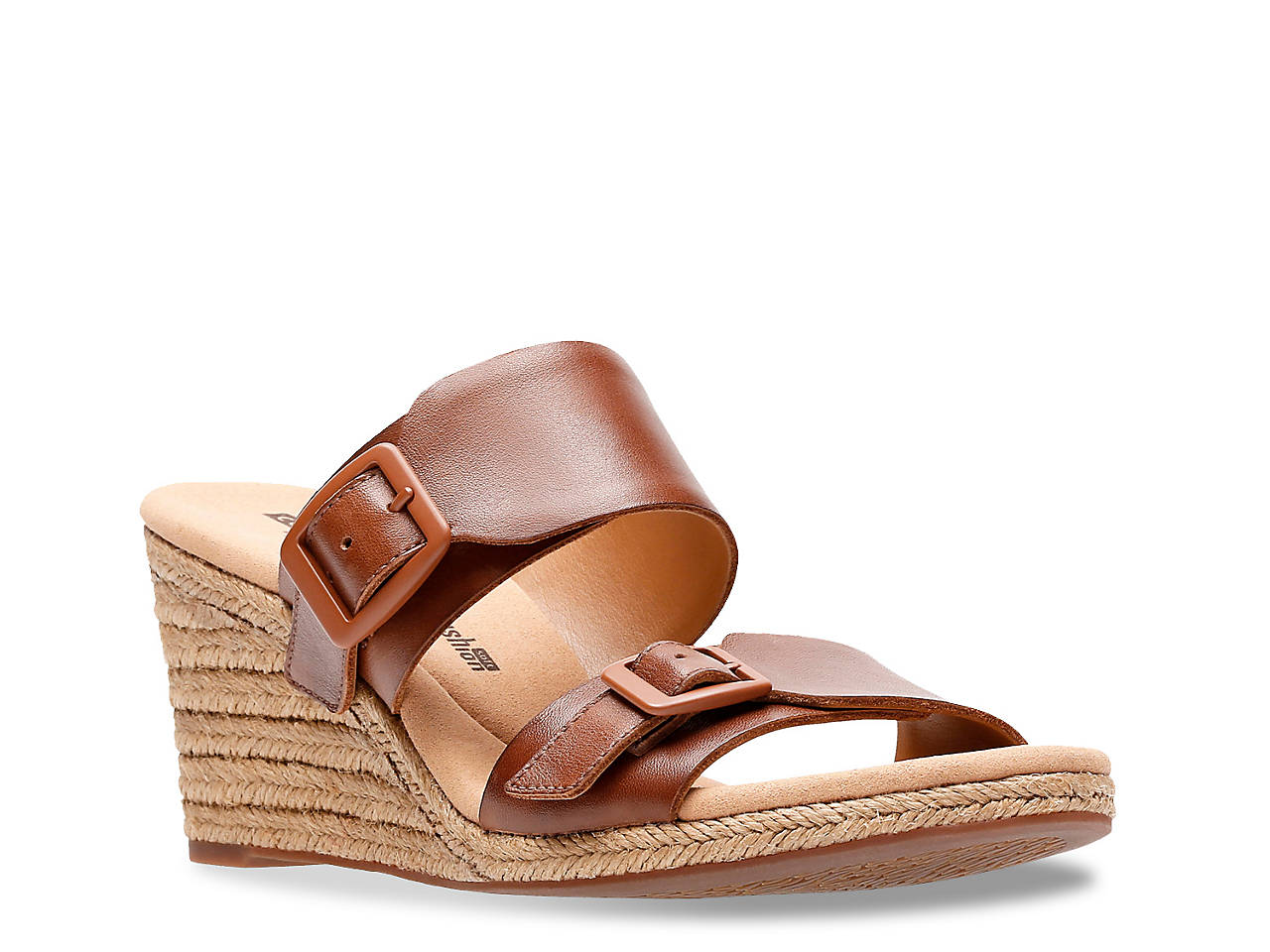6dc5acb87264 Clarks Lafley Devin Espadrille Wedge Sandal Women s Shoes