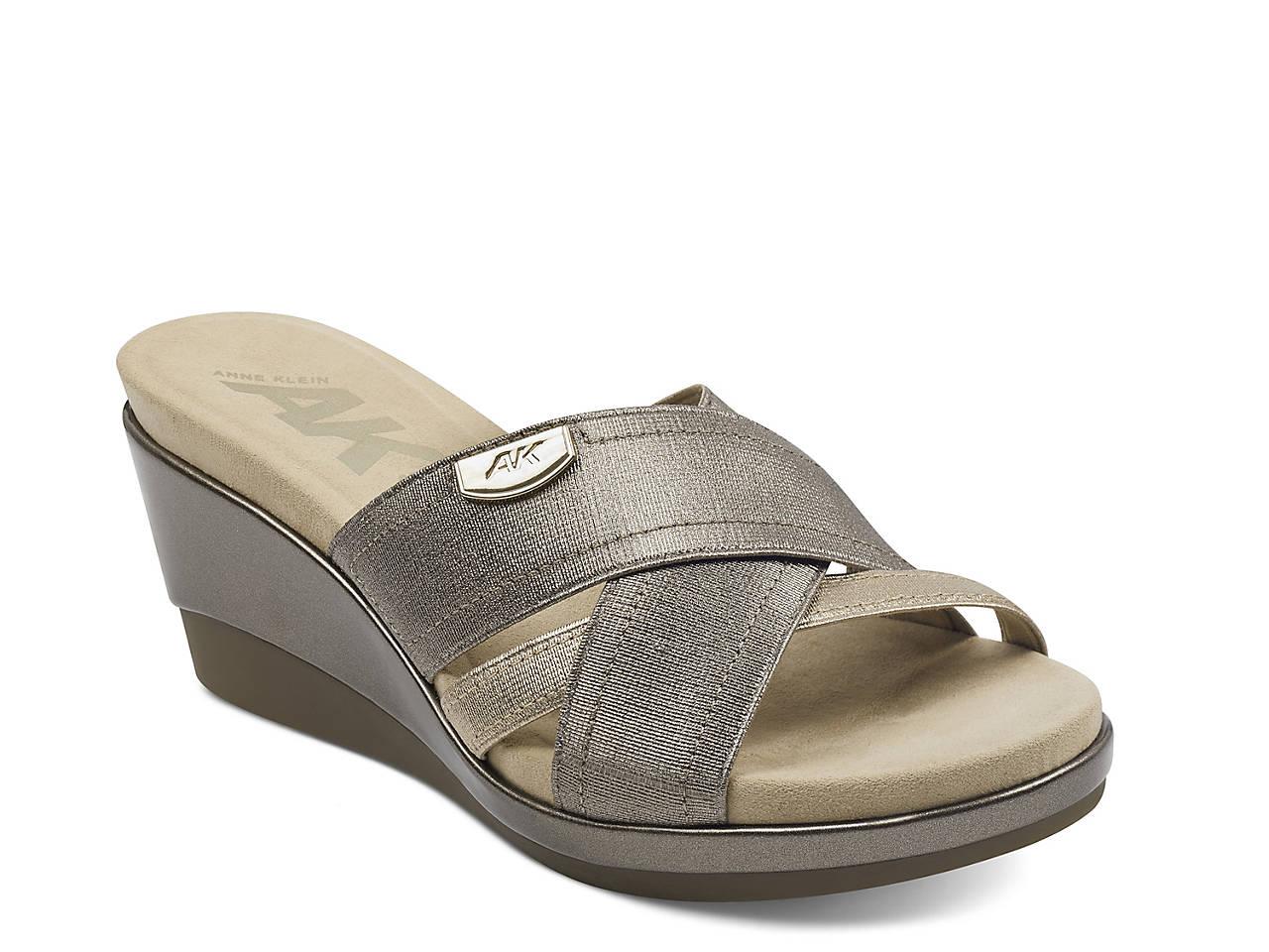 8dc106983468d Anne Klein Sport Peggy Wedge Sandal Women's Shoes | DSW