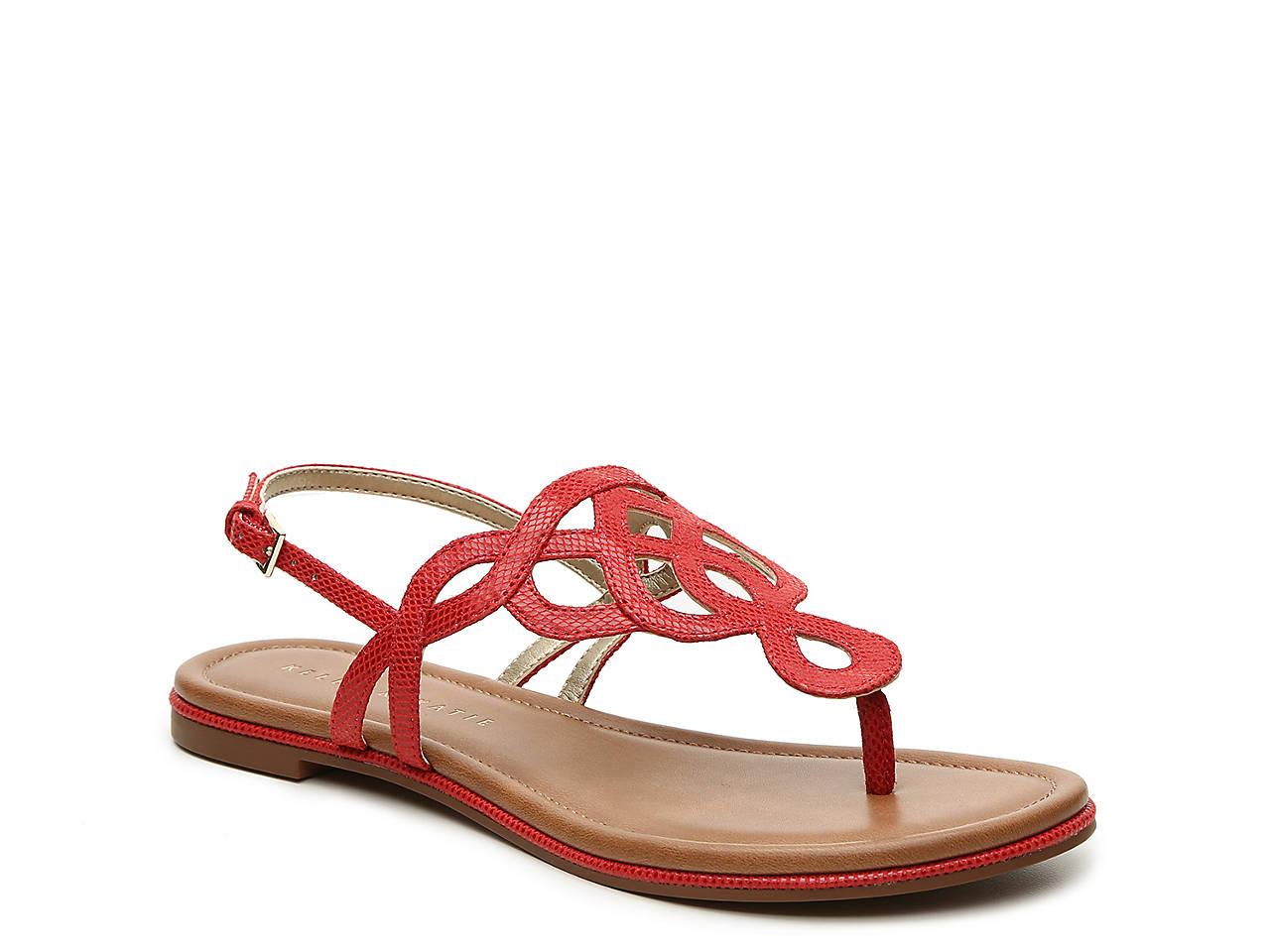 Kelly Amp Katie Poppie Flat Sandal Women S Shoes Dsw
