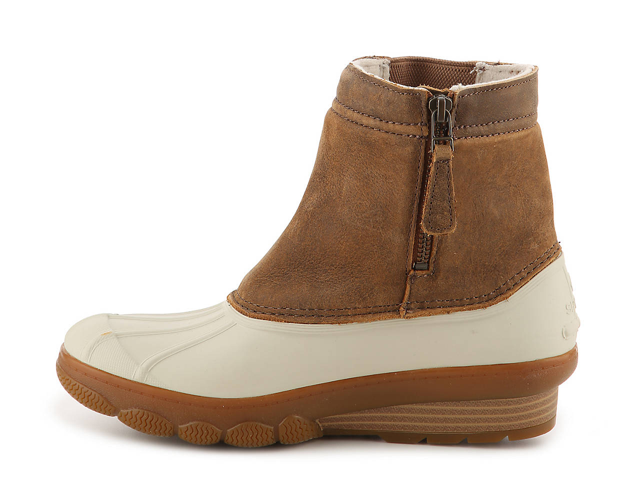 0ecc555bf68 Sperry Top-Sider Saltwater Spray Wedge Duck Boot Women s Shoes