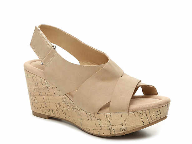 Delight Wedge Sandal. CL by Laundry. Delight Wedge Sandal. $44.99