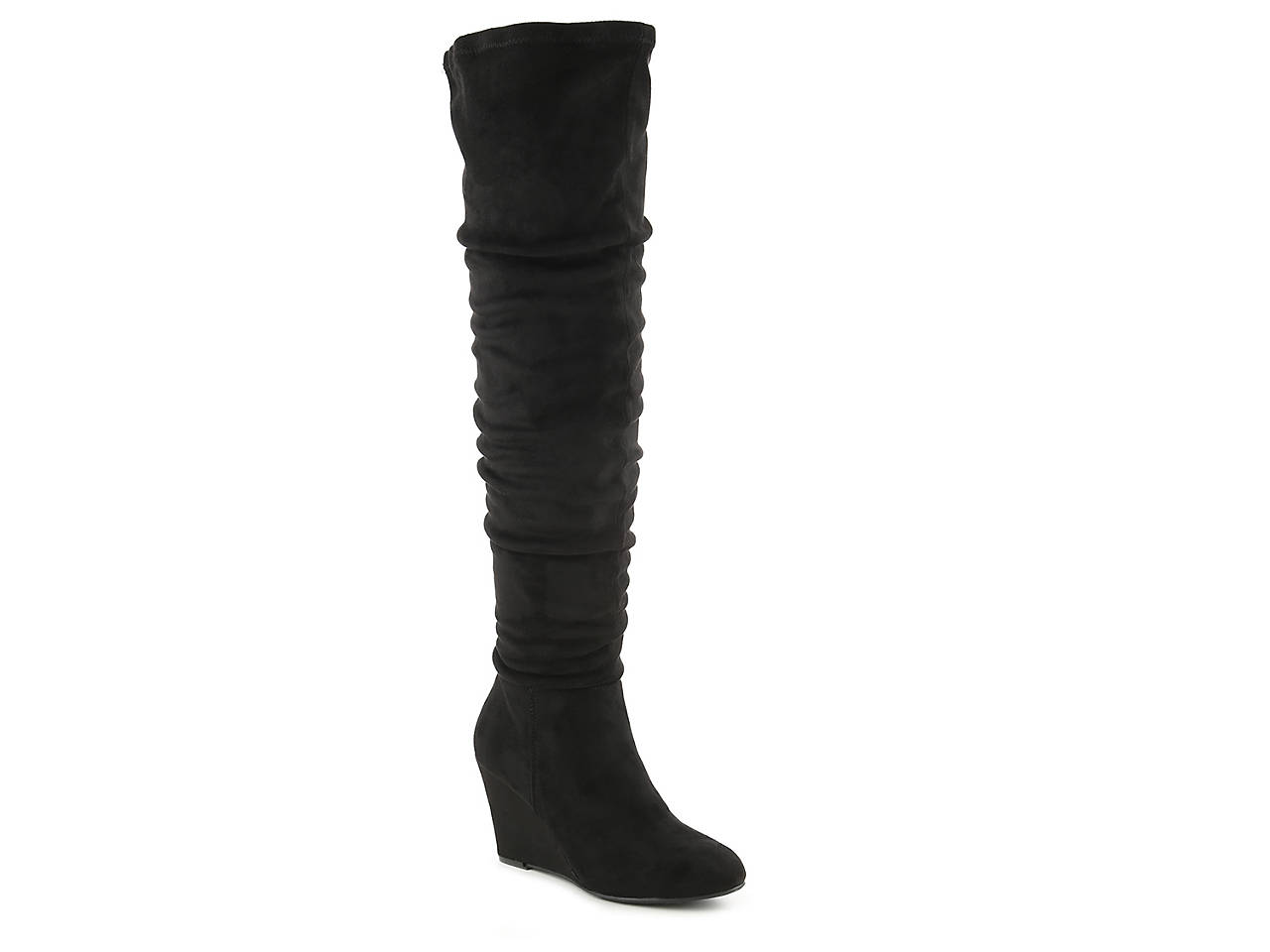 Chinese Laundry Ultra Over the Knee Wedge Boot (Women's) 0dUE0XeS
