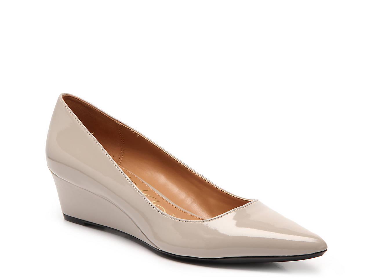 86810f5ac43 Calvin Klein Garya Wedge Pump Women s Shoes