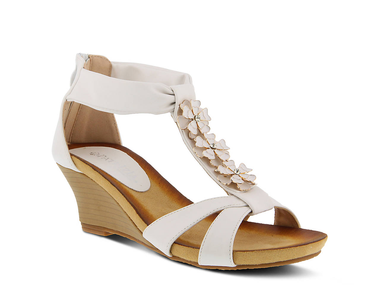 99a10a38da37 Patrizia by Spring Step Poppy Wedge Sandal Women s Shoes