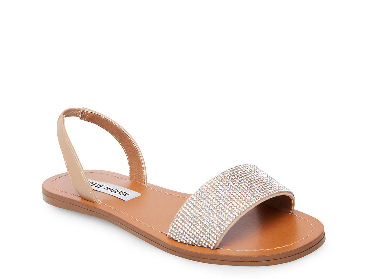 c4a6c6a9f51 Steve Madden Rock Flat Sandal Women s Shoes