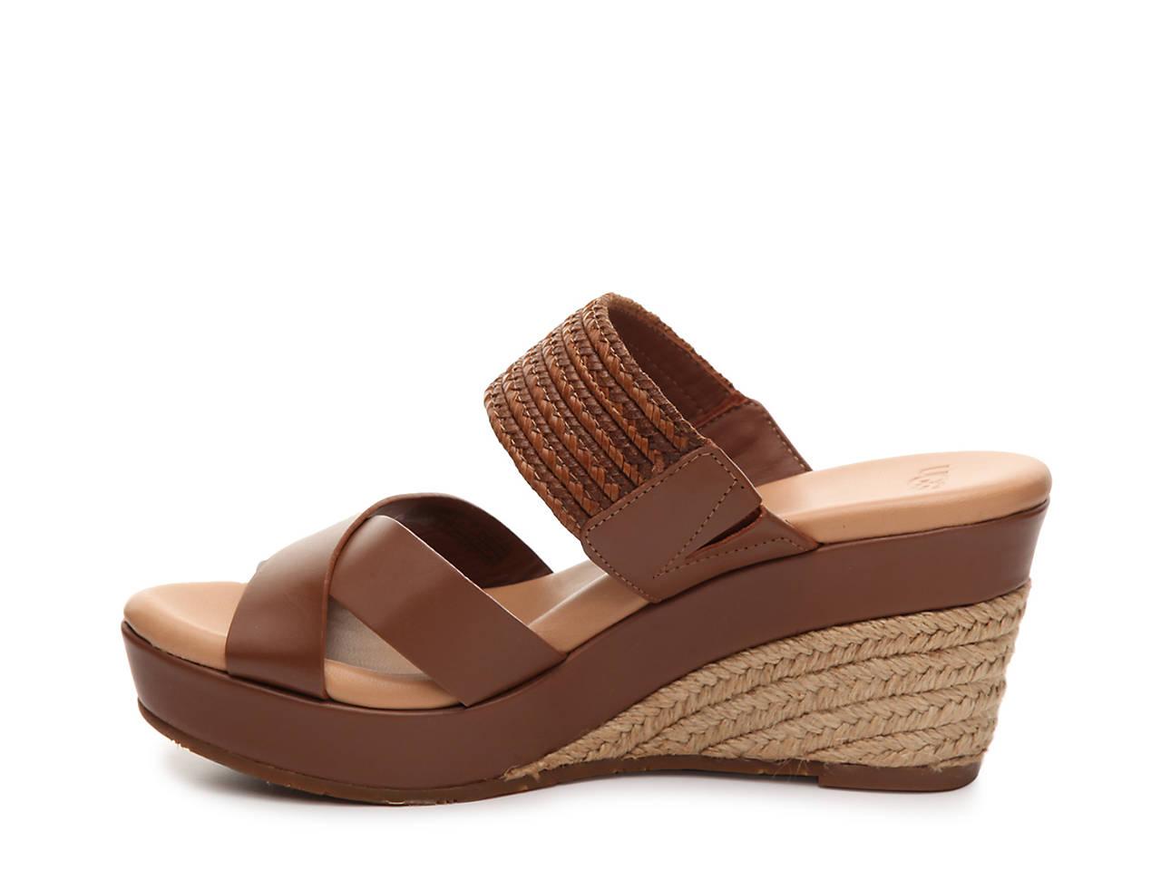 ed3328605bd4 UGG Adriana Espadrille Wedge Sandal Men s Shoes